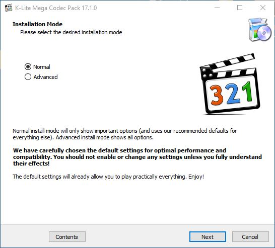 K-Lite Codec Pack Mega indir
