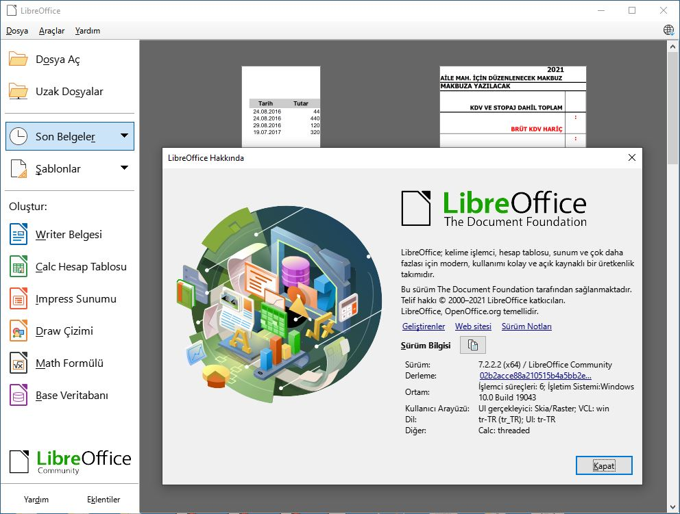LibreOffice indir