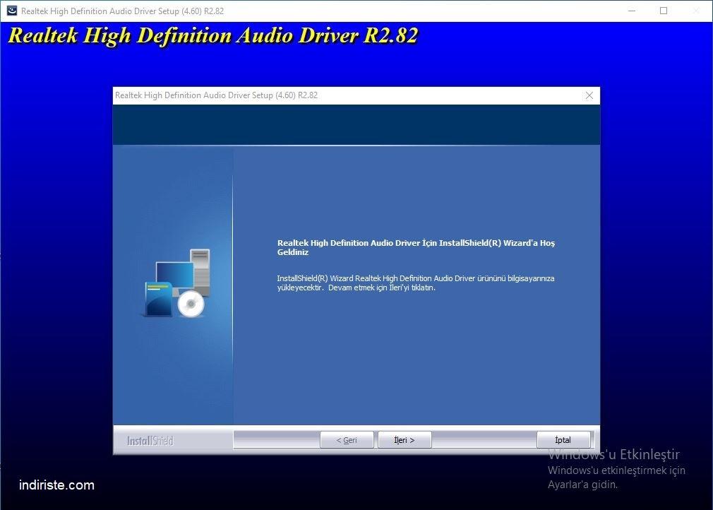 Realtek HD Audio Driver indir