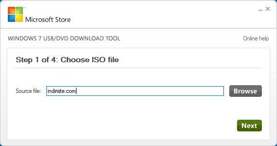 Windows 7 USB/DVD Download Tool indir